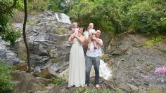 Khaolak Waterfall Secular Marriage