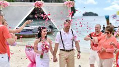 Railay Bay Protestant Marriage