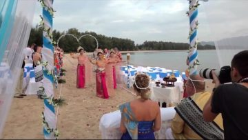 Phuket Beach Thai Wedding Ceremony