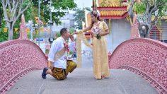 Bangkok Buddhist Blessing Ceremony