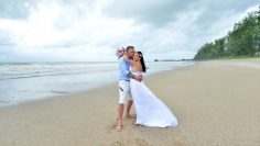 Khaolak Secular Marriage Western