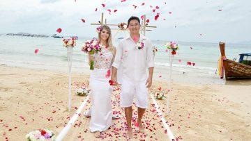 Phi Phi Island Secular Marriage