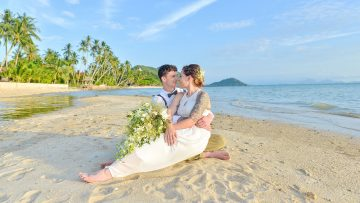 Samui East Meet West Marriage