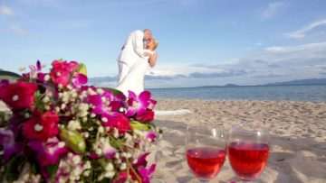Phangan Beach Elephant Wedding
