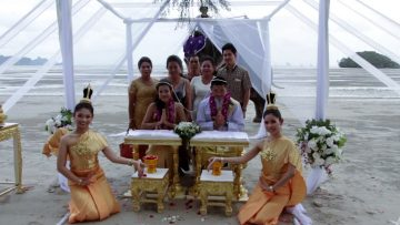 Krabi Beach Wedding Thai Ceremony