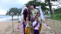 Khaolak Beach Elephant Wedding