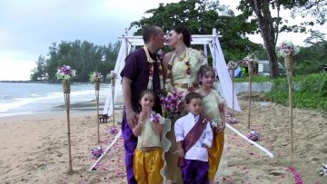 Khaolak Beach Elephant Wedding