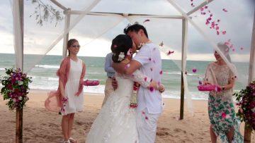 Phuket Beach Elephant Wedding Package