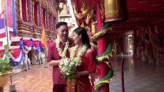 Phuket Temple Buddhist Blessing