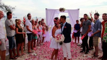 Krabi Beach Secular Wedding