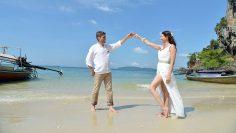 Railay Bay Thai Western Marriage