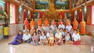 Phuket Temple Buddhist Blessing