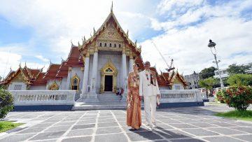 Bangkok Temple Buddhist Blessing