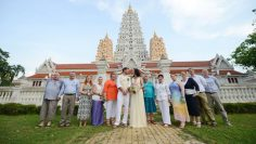 Pattaya Temple Buddhist Blessing