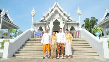 Krabi Temple Buddhist Blessing
