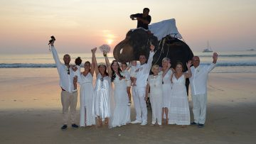 Phuket Elephant Marriage