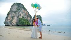 November 15, 2019 – Railay Bay – Thai Wedding – Flavia and Paulo (Brazilian + Brazilian)