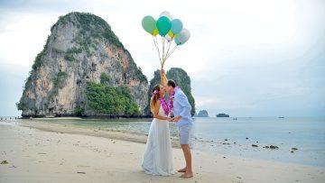 November 15, 2019 – Railay Bay – Thai Wedding – Flavia and Paulo (Brazilian + Brazilian)